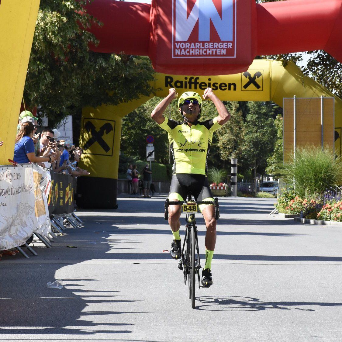 Yes. Es kann nur einen geben – Sieg Highländer Radmarathon
