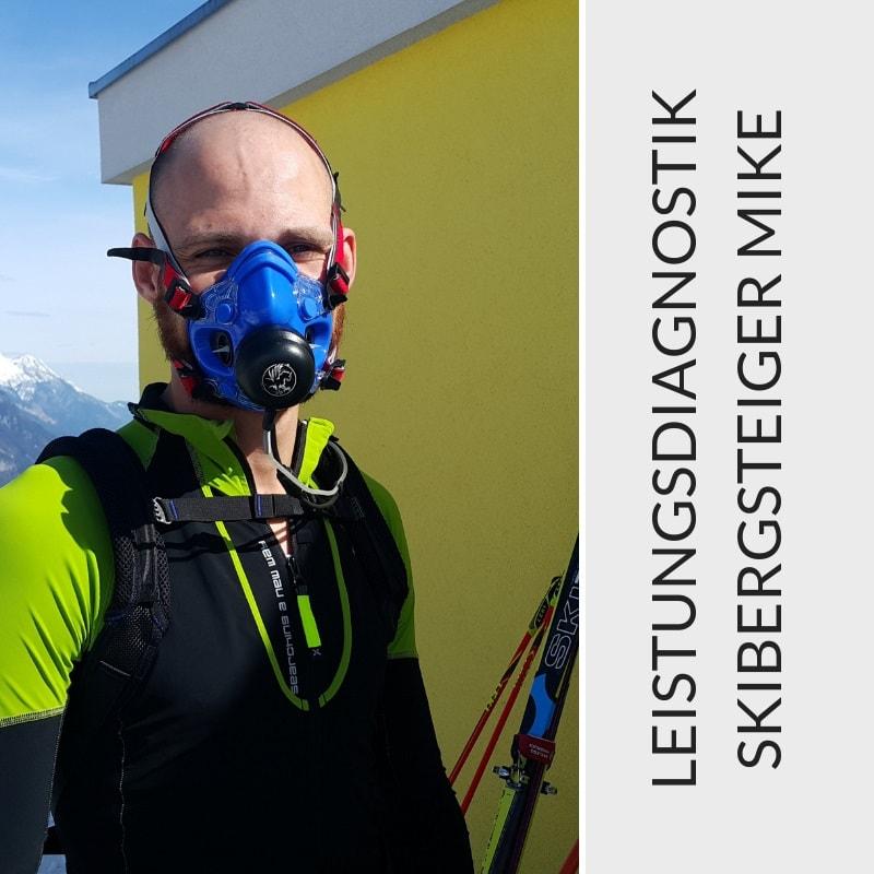 Leistungsdiagnostik Skibergsteiger Mike