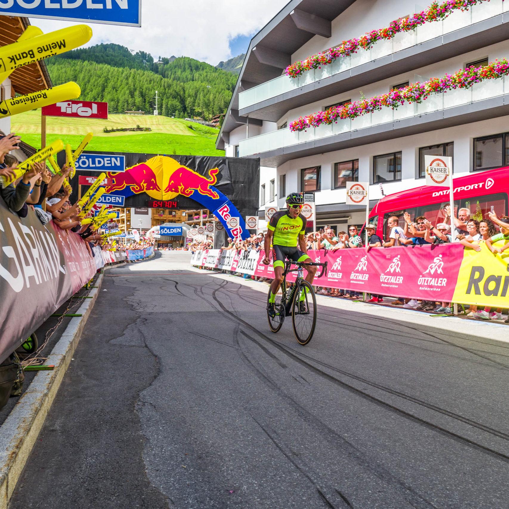 Titel verteidigt und neuer Streckenrekord – Sieg Ötztaler Radmarathon 2019