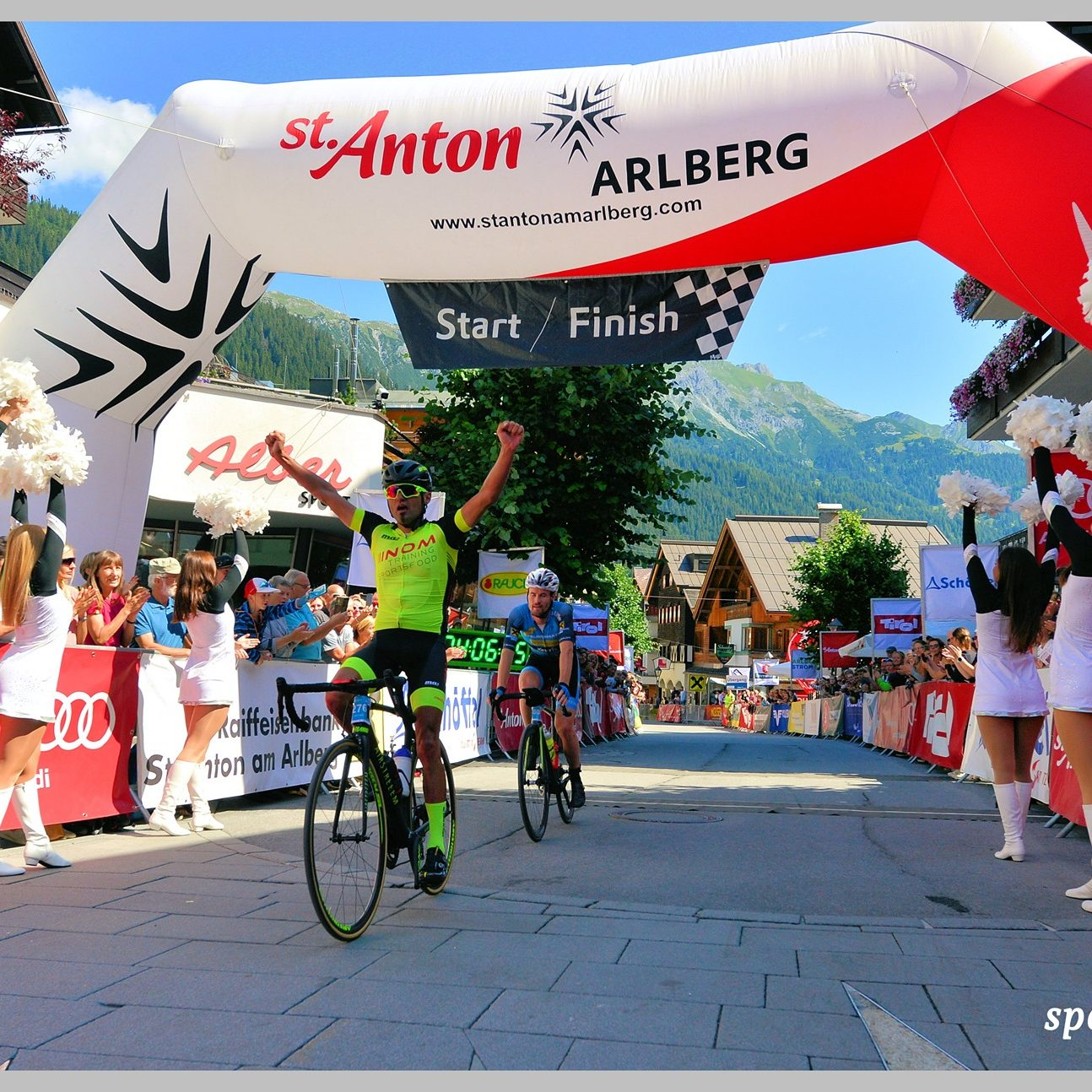 Wie Öl im Feuer – Sieg Arlberg Giro